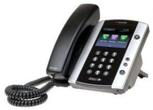 Polycom VVX500 SIP Desktop Phone